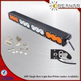 '' única fileira 120W 21.9 com a barra clara do diodo emissor de luz cor branca/ambarina