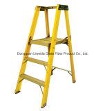 Scaletta di punto di FRP, scaletta della piattaforma di FRP/GRP, scaletta della vetroresina