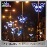 Luzes ao ar livre simples do motivo de Ploe da decoração do feriado da rua