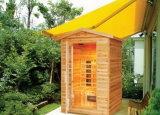 Sauna al aire libre del sitio de la sauna del infrarrojo lejano (SEK-F2)