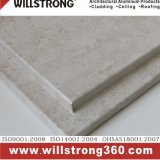 El panel de aluminio del panal para el revestimiento de la pared