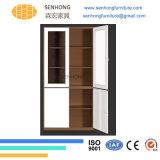 2 يشبع إرتفاع زجاجيّة أبواب [فيلينغ كبينت] لأنّ مكتب إستعمال