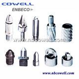 extremidades del tornillo de máquina del moldeo a presión 38CrMoAl