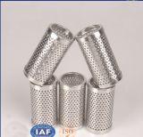 Acero inoxidable perforado modificado para requisitos particulares de los tubos filtrantes de acoplamiento del metal