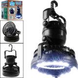 휴대용 LED 램프 야영 가벼운 손전등 천장 선풍기