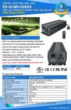 CMH는 두 배 끝난 LED가 가벼운 밸러스트를 증가하는 빛 630 Watt De Electronic Ballast를 증가한다