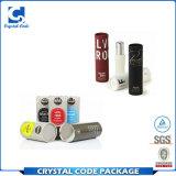 Aktualisierungsvorgangs-Lippenbalsam-Papier-Gefäß mit gedrucktem Firmenzeichen