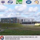販売会社のためのプレハブの鉄骨構造の商業建物