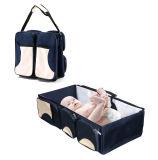 3 in 1 Veranderende Post van de Zak van de Luier van het Bed van de Baby Draagbare