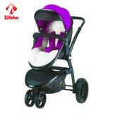Dreirädriges bewegliches Baby-Auto - Schwarzweiss-Art T602