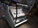 Congelador de la visualización del helado de Gelato/casos de Gelato
