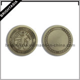 高品質のビジネスギフト(BYH-101195)のためのカスタム3D金属の硬貨