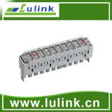 Venta caliente módulo de la conexión de 10 pares