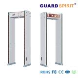 Zont Gerichts-sichere Metalldetektor-Tür-intelligenter Bekehrter 255 Stufen-Türrahmen-Metalldetektor