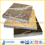 Comitato di marmo del favo di Naturel per il rivestimento della parete della costruzione