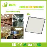 Material usado de la luz del blanco/del panel del capítulo LED de la hebra buen con la eficacia alta 48W 100lm/W con EMC+LVD (5 años de garantía)