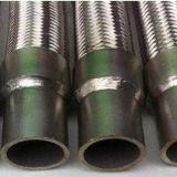 ステンレス鋼の組みひもが付いている波形の複雑な軟らかな金属のホース