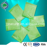 Guardanapo sanitário de vista maioria de produtos novos para o distribuidor