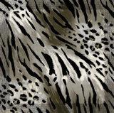 熱い販売のヒョウプリント女性100%絹の正方形のスカーフ