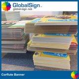 Hersteller, der gedruckte Corflute FahneSignages bekanntmacht