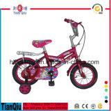 Kinder spielt 12 das Zoll-Kind-Fahrrad mit Vorlagen-Rad-Kind-Fahrrad