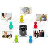 Il Wi-Fi ha permesso al video campanello, citofono del video della macchina fotografica del portello di obbligazione domestica 720p con la ricevente dell'interno per Smartphones ed i ridurre in pani