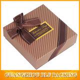 Изготовленный на заказ картон бумажной коробки упаковывая для шоколада