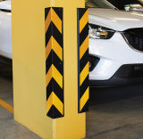 80*10*10cm parkender Sicherheits-reflektierender Gummieckschoner