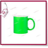 11oz Coated Mug met Fluoresecent Color door Mejorsub