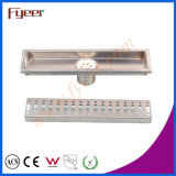 Fyeer 30cm Geruch-Resistant Rectangle Edelstahl Long Floor Drain