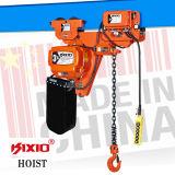 A engrenagem de 3 toneladas viaja de automóvel Hosit Chain elétrico com gancho