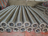 Manguito de alta presión de Flexble del tejido del alambre