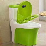 Einteilige keramische Toiletten-Farben-Toiletten-Brücke (A-031)