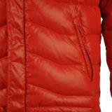 куртка ткани раковины 100%Polyester/Nylon Windproof вниз с клобуком