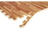 Les graines durables antidérapage en bois de couvre-tapis de protection d'étage de casse-tête de mousse d'EVA