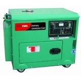 Unir el generador diesel silencioso de la potencia 5kVA