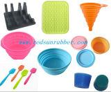 Farbige Silikon-Gummi- Produkte