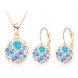 Goud dat om Gevormd met de Reeksen 10colors van de Juwelen van het Kristal (pcst0004-c) wordt geplateerd