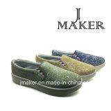 Glissade 2016 sur le fournisseur Jm2018-L de la Chine de mode de chaussures de toile