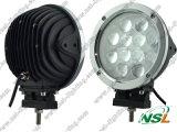 7 인치 12PCS * 램프를 모는 5W 크리 사람 60W LED 일 빛