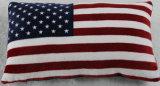 30*50cm米国のフラグ絹によって満たされる旅行枕箱