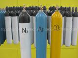 cilindro de alta pressão do cilindro de gás CNG do CO2 do hélio do argônio do hidrogênio do nitrogênio do oxigênio do aço sem emenda de 150bar /200bar
