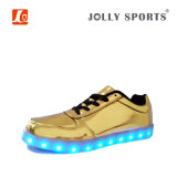 Women&Menのための靴を踊る新しい方法LED軽いスポーツ