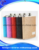 Exportaciones Hip miniatura de la fábrica del matraz del acero inoxidable