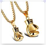 方法カップルの吊り下げ式のステンレス鋼の宝石類のネックレス(NK186)