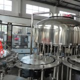 Linha de produção de enchimento bebendo engarrafada da água mineral de Guangdong animal de estimação automático completo