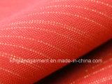 Do poliéster da largura do vermelho incêndio inerente/flama largos - tela à prova de fogo retardadora do escurecimento