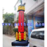 Modelo inflable hermoso inflable de Rocket Model/PVC Rocket del anuncio al aire libre gigante