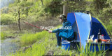 Volledig-automatische 2-4 Persoon, de Tenten van de Schaduw van het Strand, Tent van de Visserij, de Openlucht verhindert Ultraviolette Tent
