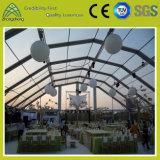 Tente campante de PVC de noce transparente extérieure à vendre